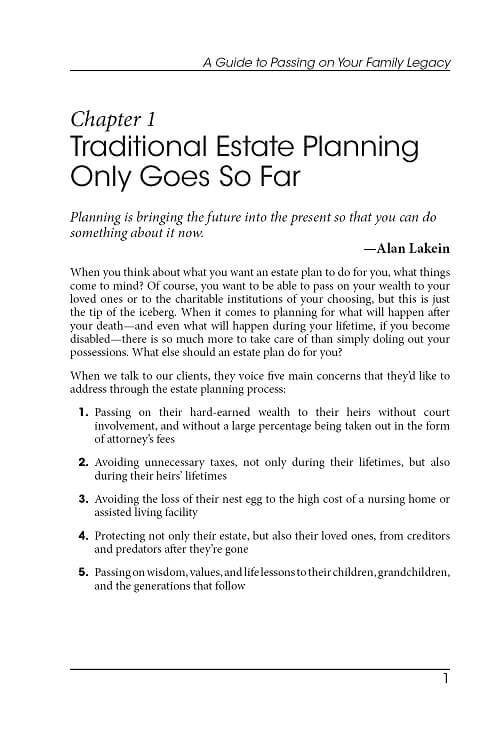 Published books estate planning port st lucie and vero beach fl kulas chapter 1 page 1 spiritdancerdesigns Images