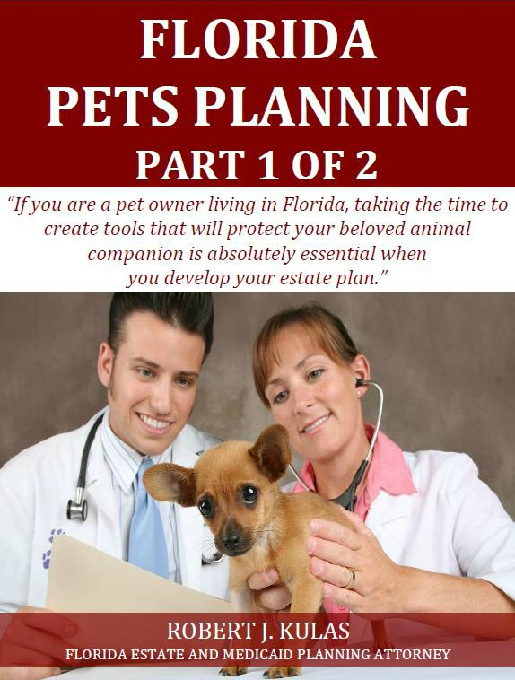 Florida Pets Planning: Part1 of 2